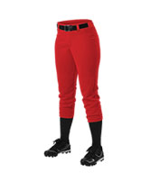 Custom Alleson Girls Belt Loop Fastpitch Pant