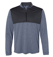 Custom Adidas Mens Lightweight Quarter-Zip Pullover