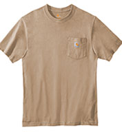 Custom Carhartt Tall Workwear Pocket Short Sleeve T-shirt