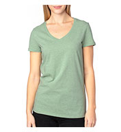 Custom Threadfast Apparel Ladies Ultimate V-Neck T-Shirt