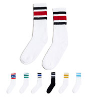 Custom SOCCO Adult Striped Crew Sock