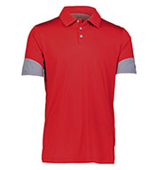 Custom Russell Adult Hybrid Polo
