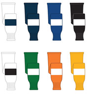 Custom Stock Striped Hockey Socks