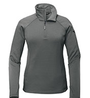 Custom The North Face® Ladies Mountain Peaks 1/4-Zip Fleece