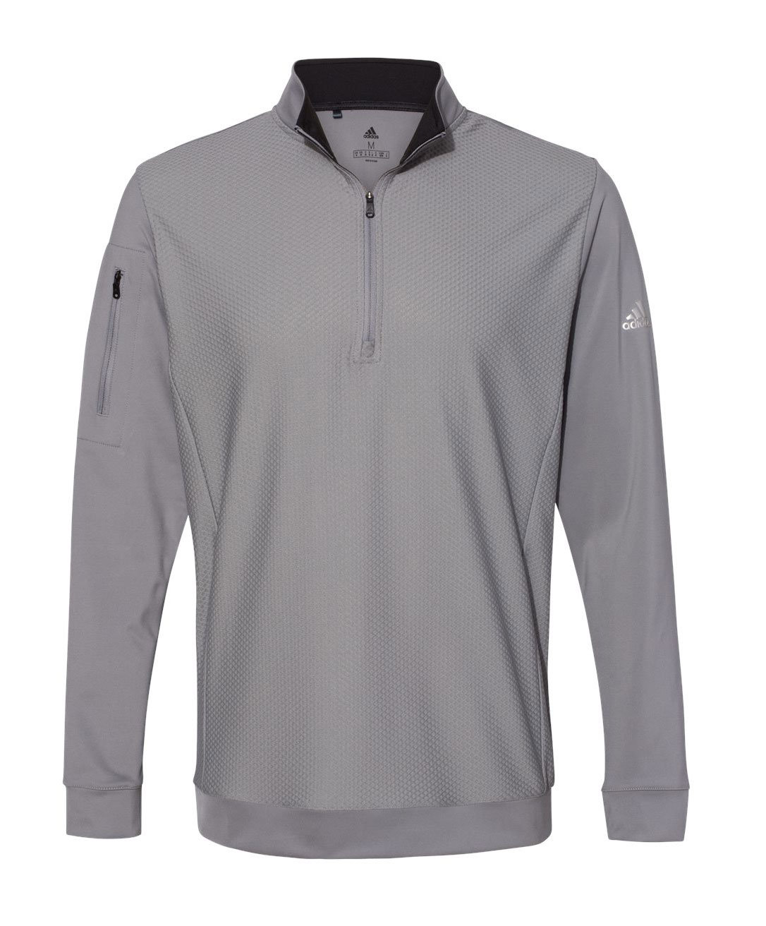 Adidas Adult Performance Texture 1/4-Zip