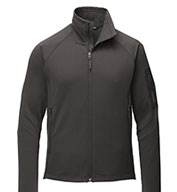 Custom The North Face® Mens Mountain Peaks Full-Zip Fleece
