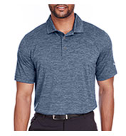 Custom Puma Golf Mens Icon Heather Polo