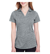 Custom Puma Golf Ladies Icon Heather Polo