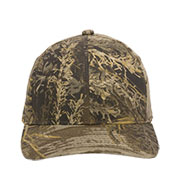Custom Camo Snap Back Cap