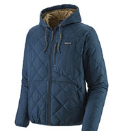 Custom Patagonia Mens Diamond Quilted Bomber Hoody