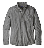 Custom Patagonia Mens Long-Sleeved Vjosa River Pima Cotton Shirt
