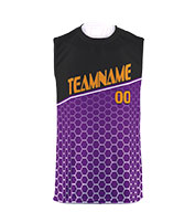 Custom Custom Youth Sublimated Sleeveless T-shirt
