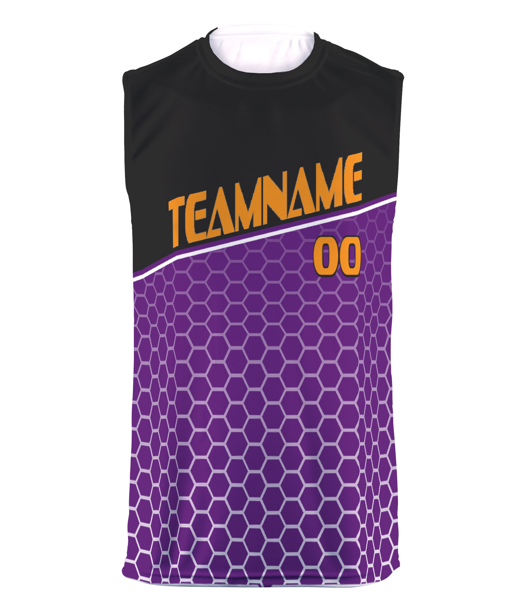 Custom Youth Sublimated Sleeveless T-shirt