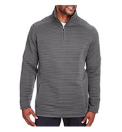 Custom Spyder Mens Capture Quarter-Zip Fleece