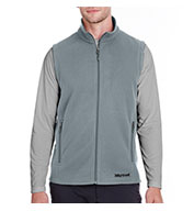 Custom Marmot Mens Rocklin Fleece Vest