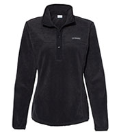 Custom Columbia Womens Benton Springs Half-Snap Pullover