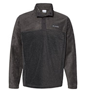 Custom Columbia Mens Steens Mountain Half-Snap Pullover