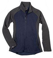 Custom Storm Creek Womens Diamond Fleece Jacket