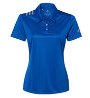 Custom Adidas Womens 3-Stripes Shoulder Sport Shirt