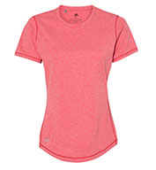 Custom Adidas Womens Heathered Sport T-Shirt