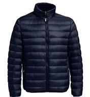 Custom Tumi Mens Packable Travel Puffer Jacket