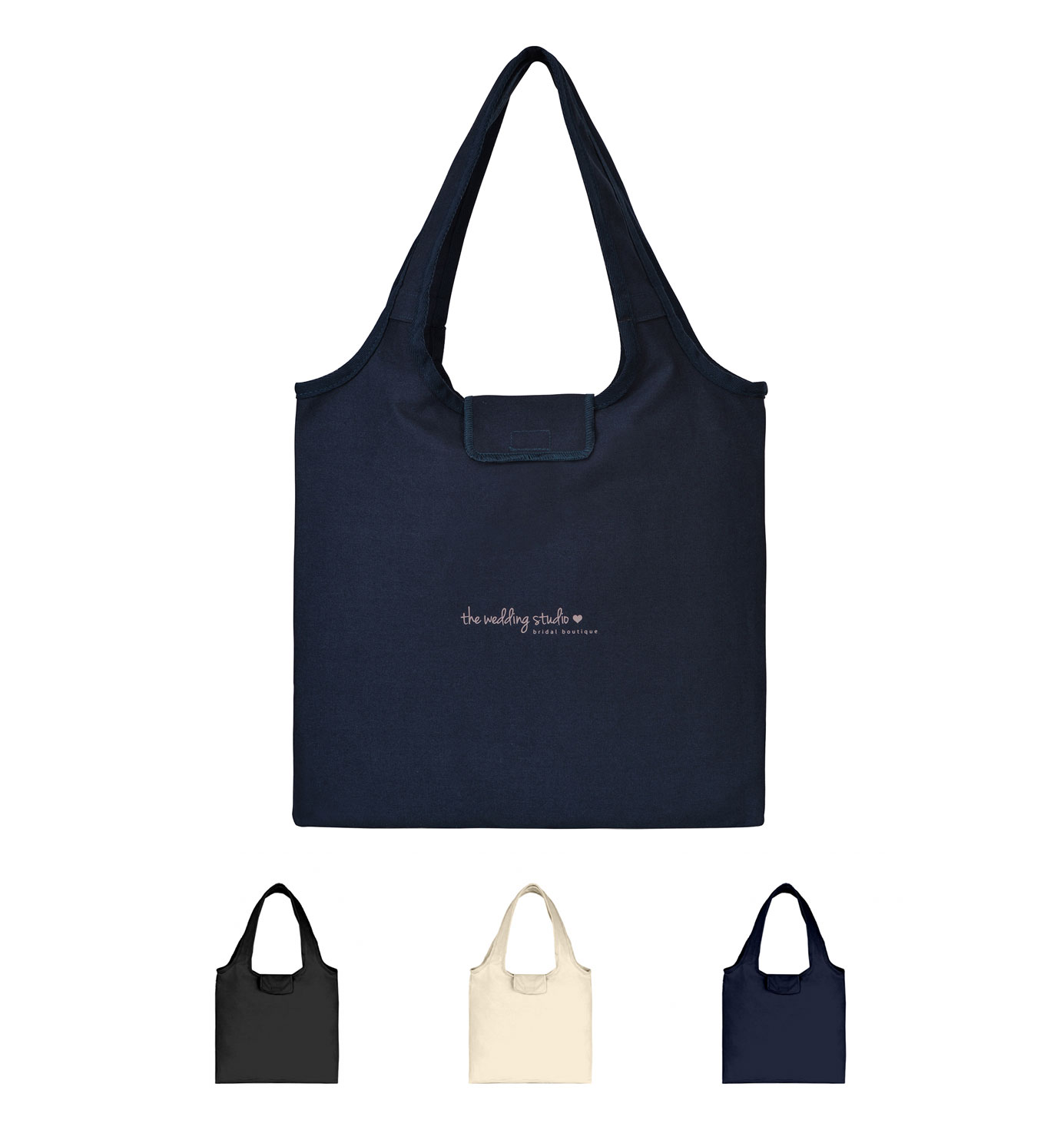 Willow Cotton Packable Tote