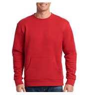 Custom Next Level Unisex Long-Sleeve Crew with Pocket