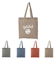 Custom Recycled 5 oz. Cotton Twill Convention Tote