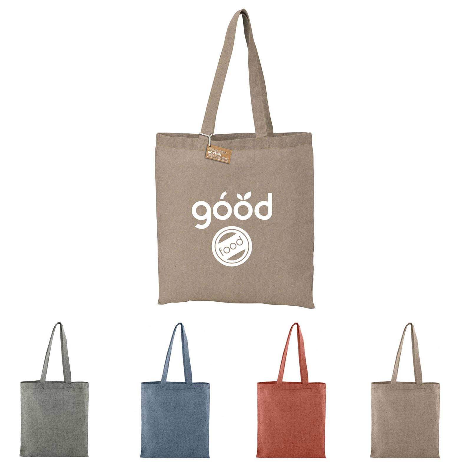 Recycled 5 oz. Cotton Twill Convention Tote