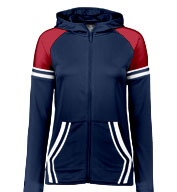 Custom Holloway Ladies Retro Grade Jacket