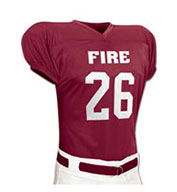 Custom Champro Youth Fire Football Jersey