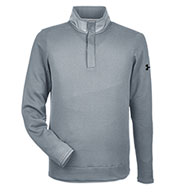 Custom Under Armour Mens Corporate Quarter Snap Up Sweater Fleece