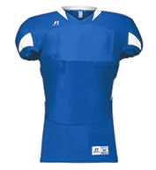 Custom Russell Adult Waist Length Football Jersey