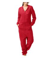Custom Boxercraft Adult Polar Fleece Union Suit