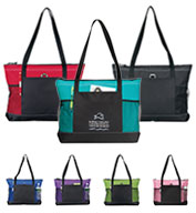 Custom Gemline Select Zippered Tote