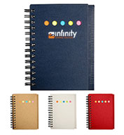 Custom Prime Line® Eco Mini-Sticky Book™ With Ruler