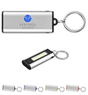Custom Prime Line® COB Key Chain with Engrave Panel