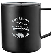 Custom Leeds Rover Copper Vacuum Insulated Camp Mug 14 oz.
