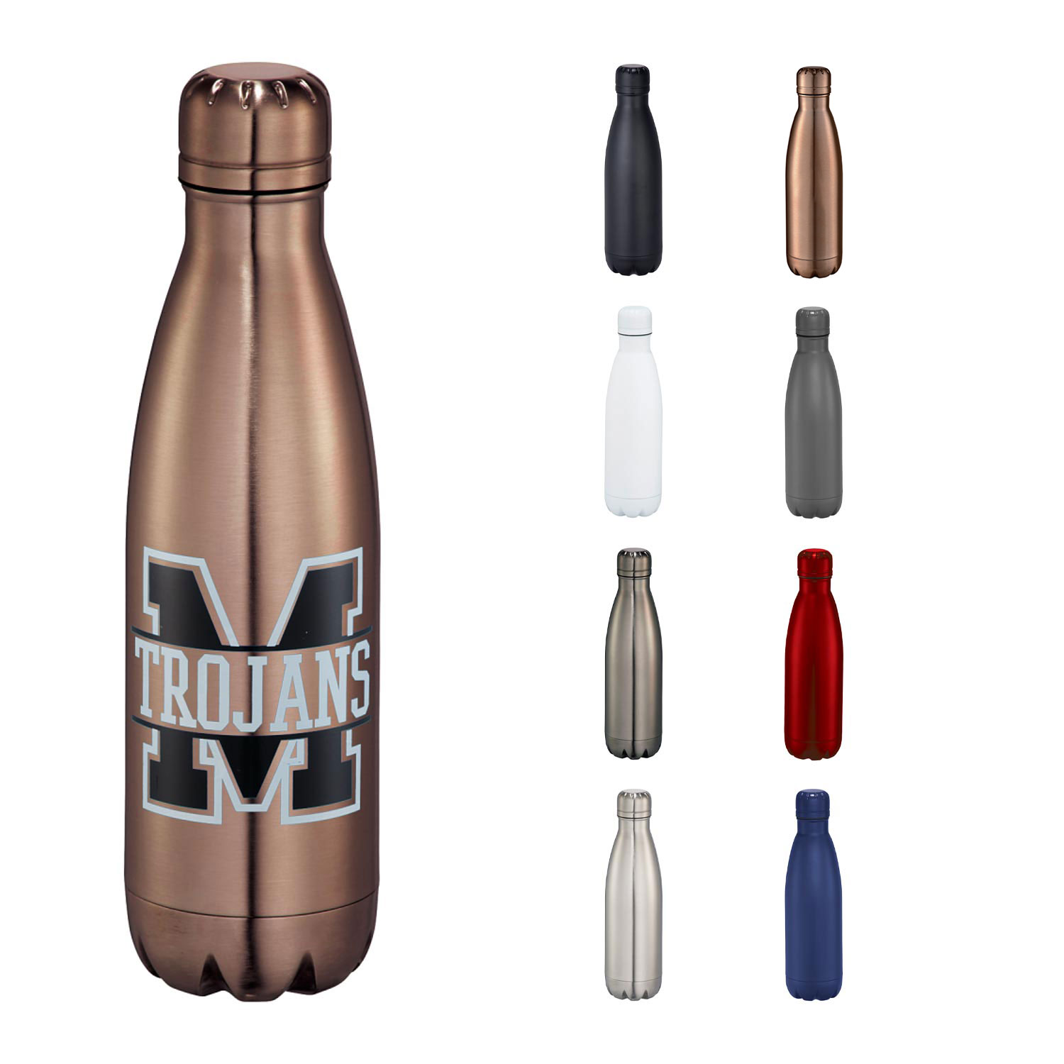 Leeds Copper Vacuum Insulated Bottle 17 oz.