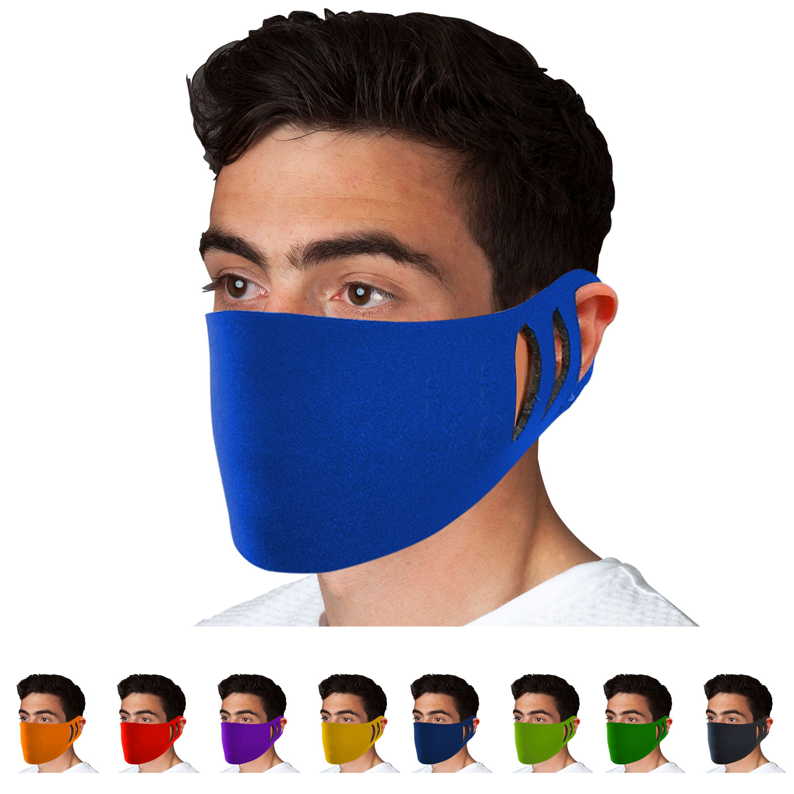 Stretchable Polyester Face Cover