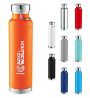 Custom Leeds Thor Copper Vacuum Insulated 22 oz. Bottle
