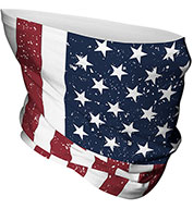 Custom Adult Patriotic Gaiter-12 Pack