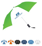 Custom Leeds  42 Auto Open Folding Umbrella