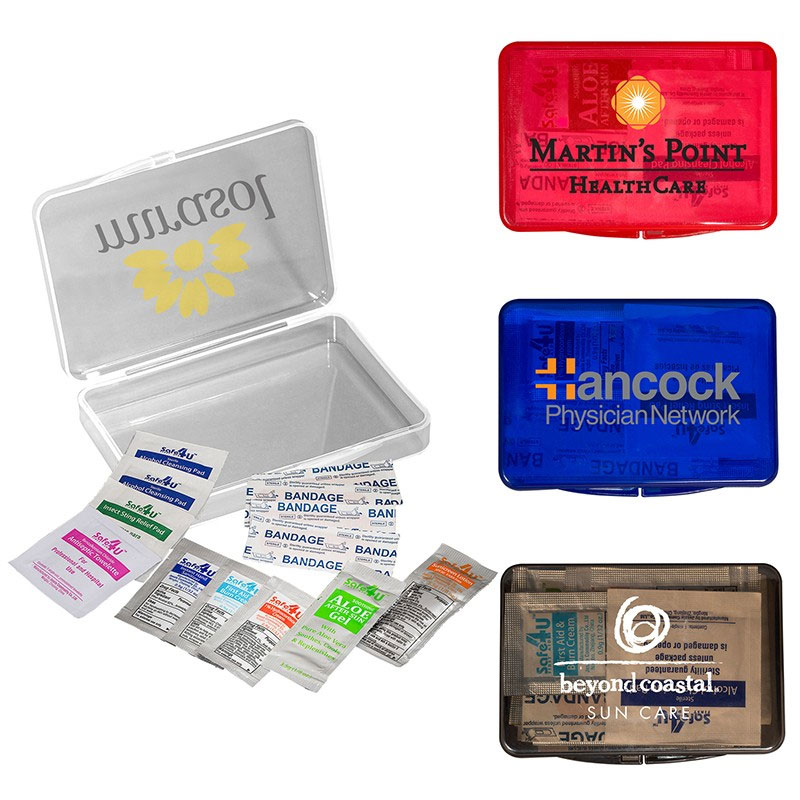 Prime Line® Plastic Box First Aid Kit