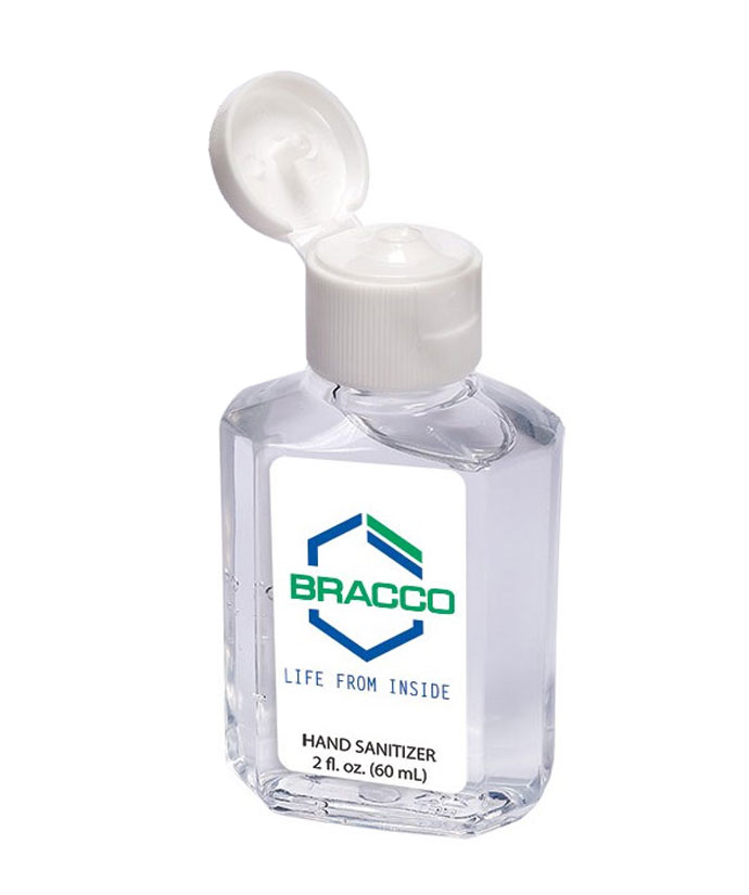 Prime Line® Gel Sanitizer In Square 2oz Bottle