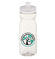 Custom Bullet Easy Squeezy Crystal 24 oz. Sports Bottle