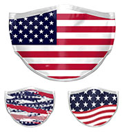 Custom 3 Layer Sublimated Mask-No Minimum