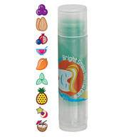 Custom Bullet Non-SPF Clear Tube Colorful Lip Balm