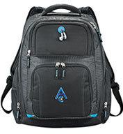 Custom Leeds Zoom TSA 15 Computer Backpack