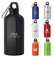 Custom Bullet Lil Shorty 17oz Aluminum Sports Bottle